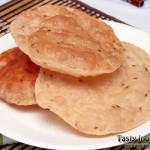 Kuttu Ki Puri (puffed buckwheat bread) Recipe