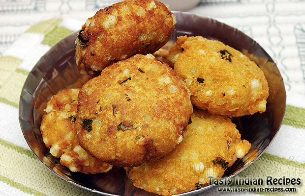 Sabudana Cake Recipe In Marathi: How To Make Sabudana Vada