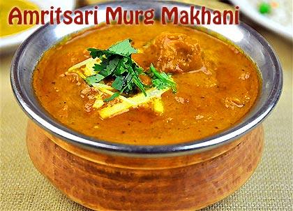 Amritsari murg makhani recipe how to make amritsari murg for Amritsari cuisine