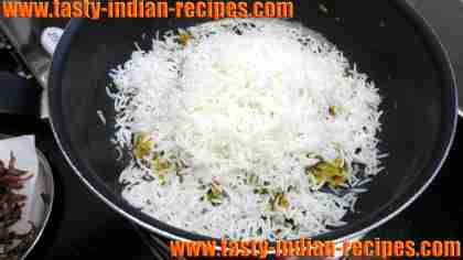 How to make biryani with chicken