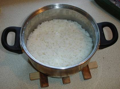Half Cooked Rice