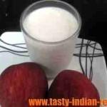 Apple Milk Shake Recipe