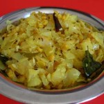 Cabbage Poriyal Recipe