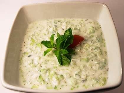 Cabbage Raita