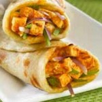 Panner Tikka Roll Recipe