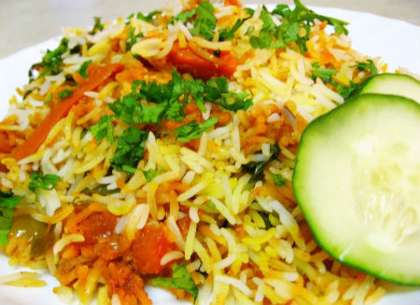 Quick Vegetable Pulao