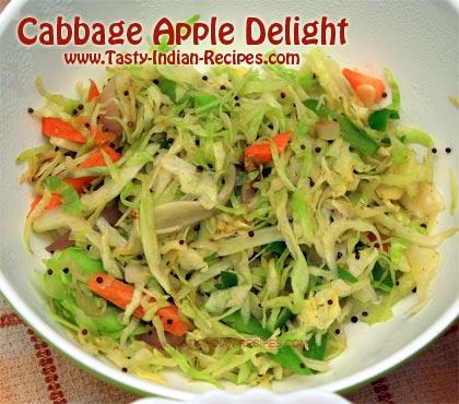 Cabbage Apple Delight Recipe
