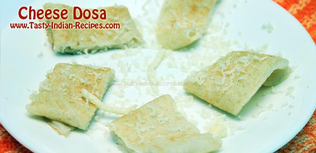 Cheese Dosa---Featured