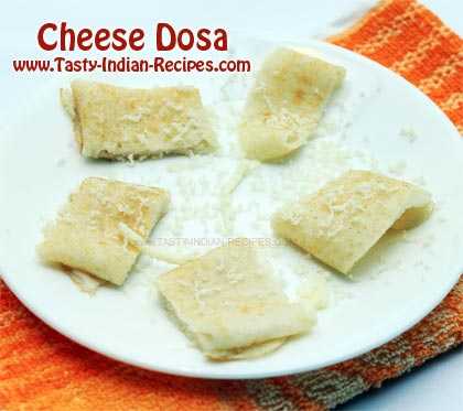 Cheese Dosa