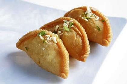 Indian Gujiya