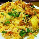 Microwave Chicken Biryani Recipe