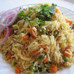 Vegetable Biryani ( Microwave Recipe) Recipe