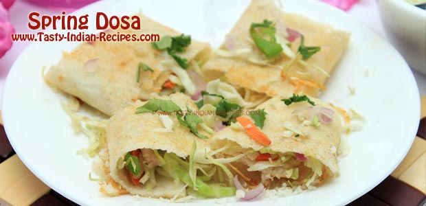 Spring Dosa - Featured