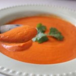 tomatoes and coconut soup