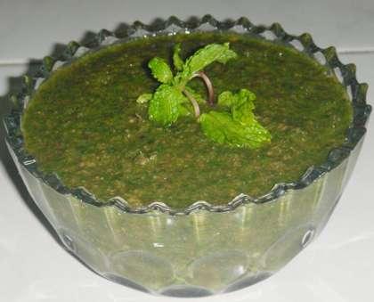 How to make Mint Chutney - Mint Chutney Recipe