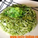 Palak (Spinach) Risotto Recipe