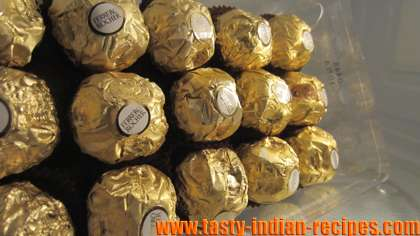 Homemade Ferrero Rocher Truffles - Homemade Ferrero Rocher Truffles