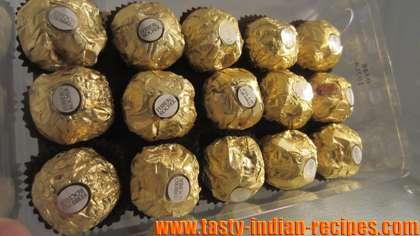 Homemade Ferrero Richar Truffles