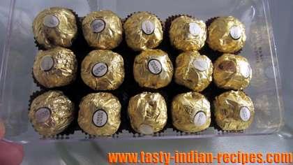 Homemade Ferrero Rocher Truffles