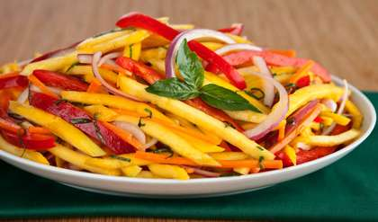 Raw Mango Salad Recipe How To Make Raw Mango Salad