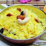 Kesar Pulao (Saffron Rice) Recipe