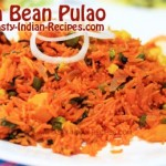 Soya Bean Pulao Recipe