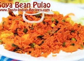 Soyabean-Pulao-Recipe