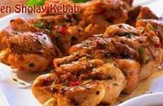 Chicken Sholay Kebab
