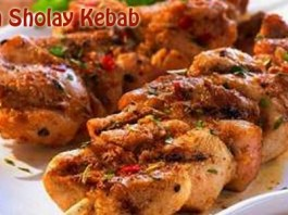 Chicken Sholay Kebab
