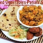 Mixed Vegetables-Patiala Style Recipe