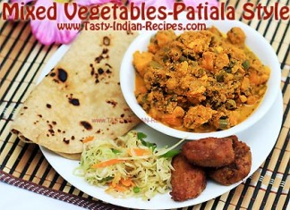 Mixed Vegetable Patiala Style