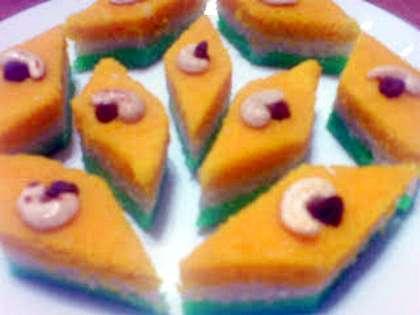 Tiranga Halwa Recipe