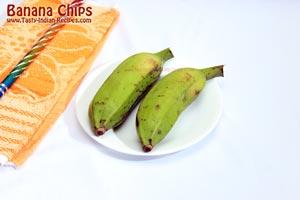 Banana Chips Recipe Step 1
