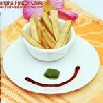 Banana Finger Chips Recipe
