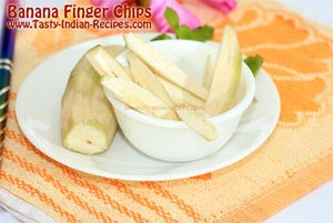 Banana Finger Chips Recipe Step 2