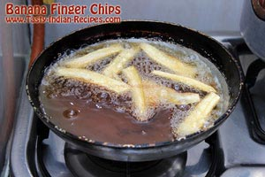 Banana Finger Chips Recipe Step 3