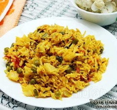 Cauliflower Pulao