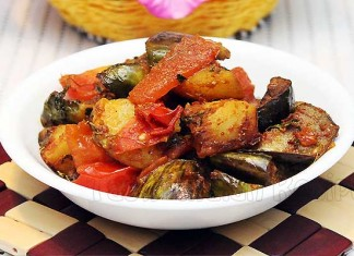 Eggplant-Potato-Curry
