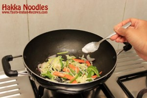 Hakka Noodles Recipe Step 5