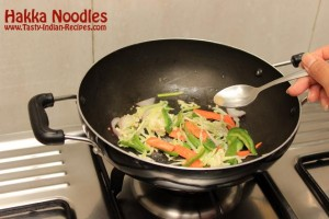 Hakka Noodles Recipe Step 6