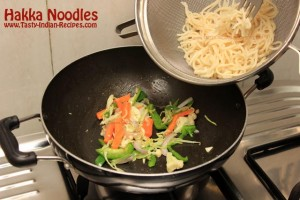 Hakka Noodles Recipe Step 8