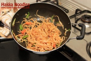Hakka Noodles Recipe Step 10