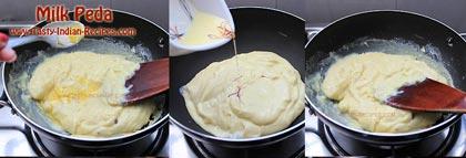 Milk Peda Recipe Step 4