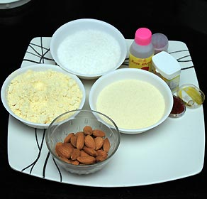 Motichoor Ladoo Recipe Ingredients
