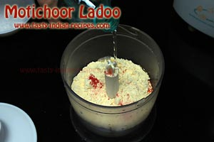 Motichoor Ladoo Recipe Step 1