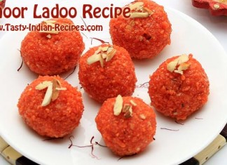 Motichoor Ladoo Recipe Featured