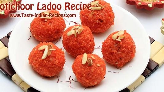 Motichoor Ladoo Recipe Featured