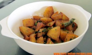 Serve Sukha Aloo Recipe