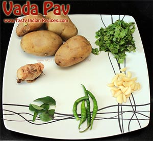 Aloo Vada Ingredients