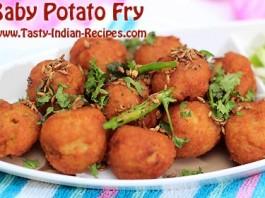 Baby Potao Fry Recipe